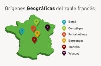 Regiones Geográficas del Roble